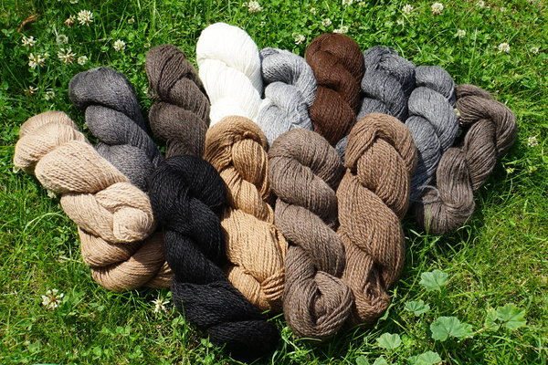 "Strickgarn ""Hell's chocolate heaven Alpacas"""
